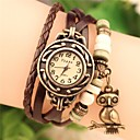 cheap Bracelet Watches-Women's Bracelet Watch Casual Watch PU Band Bohemian / Fashion Black / White / Blue / One Year / SODA AG4
