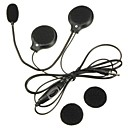 tanie Zestawy słuchawkowe do kasków-gniazdo mikrofonu 3,5 mm mini głośnik kask motocyklowy Słuchawki