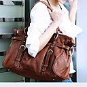 cheap Backpacks-Women's Bags Cowhide Tote Character Brown
