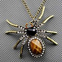 baratos Colares-Mulheres Colares com Pendentes - Aranhas, Animal Vintage, Fashion Cor Ecrã Colar Para