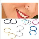 cheap Body Jewelry-Nose Ring / Nose Stud / Nose Piercing - Stainless Steel Unique Design, Fashion Women's Pink / Golden / Light Blue Body Jewelry For Christmas Gifts / Daily / Casual