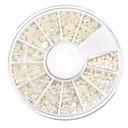 voordelige Nagelstrass & Decoraties-Schattig Nagel kunst Manicure pedicure ABS Klassiek / Bruiloft Dagelijks / Kynsien korut
