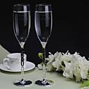 preiswerte Küchengeräte-personalisierte Toasten Flöten die Braut und Bräutigam (2er-Set)