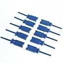 billige Koblinger & terminaler-test krok klippet testklemme logikk analysator ledningsnett krok (10-pakning)