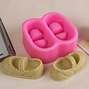 billige Bakeredskap-Bakeware verktøy Silikon Gummi Økovennlig / 3D Kake / Til Småkake / Sjokolade Bakeform 1pc