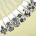 cheap Water Transfer Nail Stickers-1 pcs Flower / Fashion 3D Nail Stickers Nail Art Design Cute Daily