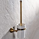 cheap Toilet Paper Holders-Toilet Brush Holder High Quality Antique Brass 1 pc - Hotel bath