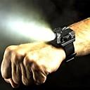 hesapli Fenerler-LED Fenerler LED 5 Işıtma Modu Şarj Edilebilir / Su Geçirmez Çok Fonksiyonlu Siyah / Gümüş