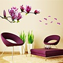 cheap Wall Stickers-Florals Botanical Wall Stickers Plane Wall Stickers Decorative Wall Stickers, Vinyl Home Decoration Wall Decal Wall Decoration