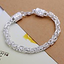 preiswerte Armbänder-Herrn Ketten- & Glieder-Armbänder - versilbert Drache Armbänder Schmuck Für Hochzeit Party Alltag Normal
