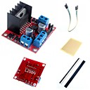 cheap Lamp Bases & Connectors-L298N Dual H Bridge Stepper Motor Driver Controller Board Module  and Accessories for Arduino
