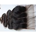 olcso LED izzólámpák-PANSY haj sző Human Hair Extensions Hullámos haj / Klasszikus Emberi haj Brazil haj Női