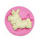billige Veggklistremerker-dyr form esel silikon mold kake dekorert silikon mold for fondant godteri håndverk smykker PMC harpiks leire