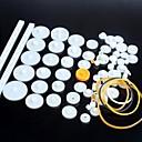baratos Kits Faça-Você-Mesmo-75 tipos de artes plásticas da engrenagem do motor do robô peças do kit modelo diy