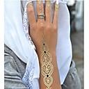 baratos Tinta Corporal Temporária-1 pcs Tatuagem Adesiva Tatuagens temporárias Séries de Jóias Impermeável / Non Toxic / Havaiana Arte para o Corpo / não tóxica / Hawaiian / Lombar / Á Prova d'água