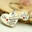Χαμηλού Κόστους Οδοντόβουρτσα & Αξεσουάρ-Μπρελόκ Ασημί Κράμα Lovers, Love Για Καθημερινά Ρούχα