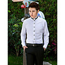 cheap Wedding Veils-Men's Stylish Classical Basic Tailored Fit Shirt - Solid Colored
