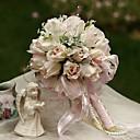 povoljno Cvijeće za vjenčanje-Umjetna Cvijeće 1 Podružnica Cvijeće za vjenčanje Roses Cvjeće za stol