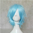 cheap Modern Shoes-Synthetic Wig / Cosplay & Costume Wigs Straight Synthetic Hair Blue Wig Women's Short