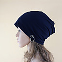 cheap Earrings-Women's Party Active Cotton Beanie / Slouchy - Solid Colored