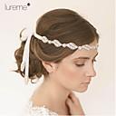 voordelige Kanten pruiken van echt haar-Bruiloft/Feest/Dagelijks/Causaal - Haarbanden (Strass/Stof , Zoals Op De Afbeelding)