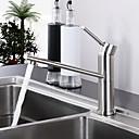 preiswerte Pinsel Taschen & Accessoires-Armatur für die Küche - Moderne Gebürstet Bar / Prep deckenmontiert / Einhand Ein Loch