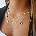 preiswerte Körperschmuck-Damen Layered Ketten - Modisch Gold Modische Halsketten Schmuck Für