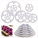cheap Bakeware-Bakeware tools Plastic Eco-friendly / Nonstick For Cake / For Cookie / For Chocolate Dessert Decorators 6pcs