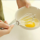 abordables Utensilios para huevos-batidor de huevos de acero inoxidable