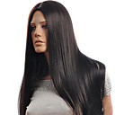 cheap Natural Color Hair Weaves-hot models in europe and america carved high quality synthetic long straight hair wig simulation of human hair