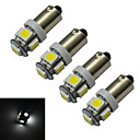 cheap Motorcycle Lighting-4pcs 1 W 70-100 lm 5 LED Beads SMD 5050 Cold White 12 V / 4 pcs