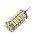 رخيصةأون لمبات LED-1PC 850-900 lm G4 أضواء LED ذرة T 120 الخرز LED مصلحة الارصاد الجوية 3528 أبيض دافئ / أبيض كول 12 V / قطعة / بنفايات