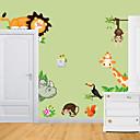 preiswerte Wand-Sticker-Tiere Cartoon Design Wand-Sticker Flugzeug-Wand Sticker PVC Haus Dekoration Wandtattoo Wand