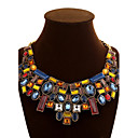 cheap Necklaces-Women's Crystal Chain Necklace / Statement Necklace - Crystal Statement, European, Festival / Holiday Screen Color Necklace For Party, Special Occasion, Birthday