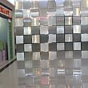 preiswerte Fensterfolie & Aufkleber-Fenster Film & Aufkleber Dekoration Klassisch Geometrisch PVC / Vinyl Fensterfolie / Esszimmer / Schlafzimmer / Wohnzimmer