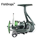 cheap Fishing Reels-Fishing Reel Spinning Reel 5.2:1 Gear Ratio+7 Ball Bearings Hand Orientation Exchangable Sea Fishing Bait Casting Ice Fishing Spinning