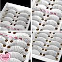 preiswerte Wimpern Accessoires-Auge Augenwimpern 10 Alltag Make-up Klassisch Gute Qualität Alltag