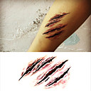 cheap Temporary Tattoos-1 Non Toxic Halloween Lower Back Waterproof Others Tattoo Stickers