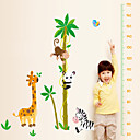 preiswerte Wand-Sticker-Tiere Cartoon Design Botanisch Wand-Sticker Tier Wandaufkleber Sticker zum Maßnehmen, Vinyl Haus Dekoration Wandtattoo Wand