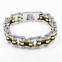preiswerte Armbänder-Ketten- & Glieder-Armbänder / Armband - Fahhrad Einzigartiges Design, Retro, Party Armbänder Silber Für Weihnachts Geschenke