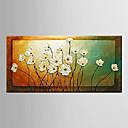 preiswerte Bekannte Meisterwerke-Handgemalte Stillleben / Blumenmuster/BotanischModern Ein Panel Leinwand Hang-Ölgemälde For Haus Dekoration