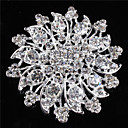 cheap Pins and Brooches-Brooches - Stylish Brooch Silver For Dailywear