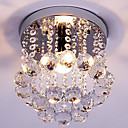 povoljno Flush Mount rasvjeta-Flush Mount Ambient Light Chrome Crystal Crystal, Mini Style 110-120V / 220-240V Bulb not included / E12 / E14