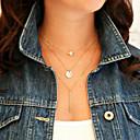 preiswerte Modische Halsketten-Damen Mehrschichtig Layered Ketten - Personalisiert, Modisch, Mehrlagig Farbbildschirm Modische Halsketten Schmuck Für
