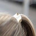 abordables Joyería para el Cabello-Mujer Flor, Legierung Diadema - Elegante / Gomas para el pelo / Gomas para el pelo