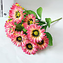 cheap Artificial Flower-Artificial Flowers 1 Branch Simple Style Sunflowers Tabletop Flower