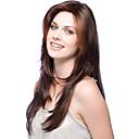 abordables Pelucas de Cabello Natural-sin tapa de alta calidad a largo ondulado mono top remy virginal pelucas de cabello humano 7 colores para elegir