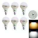 abordables Tiras de Luces LED-850-900 lm E26/E27 Bombillas LED de Globo G60 28 leds SMD 3528 Decorativa Blanco Cálido Blanco Fresco AC 85-265V