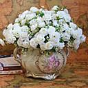 baratos Acessórios de Limpeza de Cozinha-Flores artificiais 1 Ramo Estilo Moderno Rosas Flor de Mesa