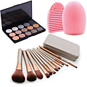 cheap Makeup Brush Sets-Eye Face Lip Classic Travel Eco-friendly Professional High Quality Limits Bacteria Hypoallergenic Full Coverage Daily